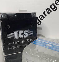 АККУМУЛЯТОР TKS YTX7L-BS 7АH КИСЛОТНЫЙ (Размеры - L110*W70*H126мм)