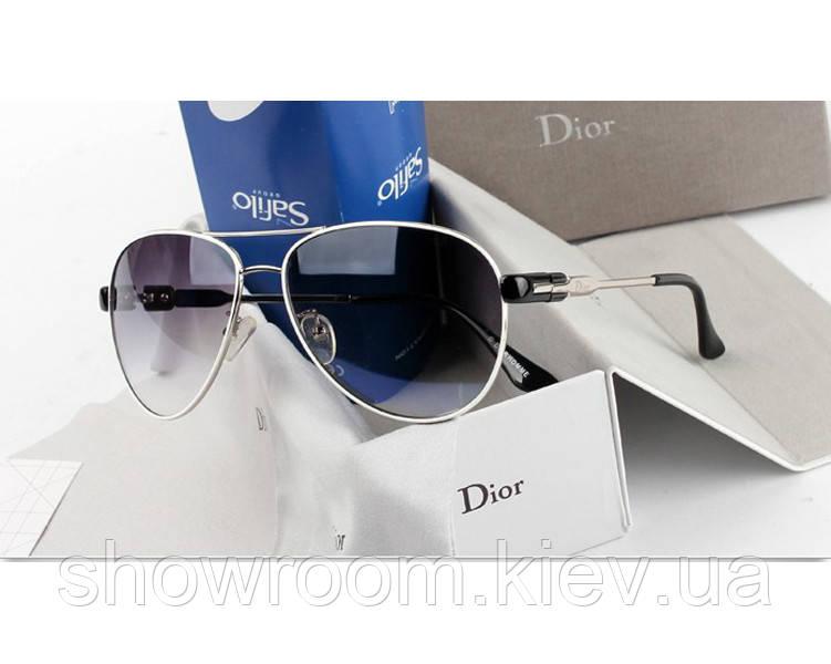 Женские солнцезащитные очки авиаторы Homme (белая оправа)