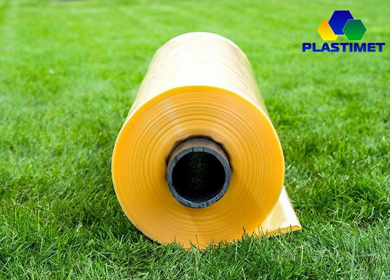 Плівка теплична стабілізована, 2-сезонна, 3-шарова, 100 мкн, ширина 10м, довжина 50м