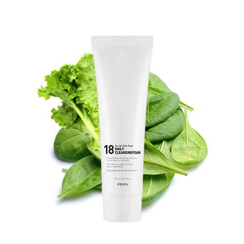 Пенка для умывания молодой кожи лица A'pieu 18 Daily Cleansing Foam