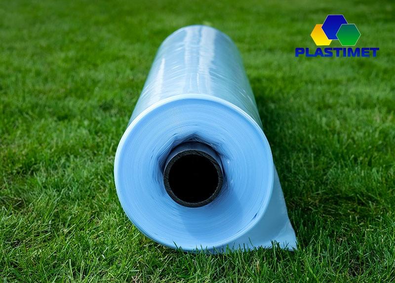 Плівка теплична стабілізована, 10-сезонна, 3-шарова, 180 мкм, ширина 12м 50м довжина