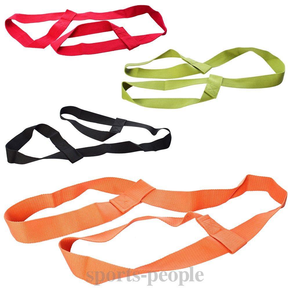 Ремінь (пояс) для йоги (розтяжки) MS 2136, розмір 150*3 см, різном. кольори
