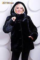 «Женская модная шубка из эко-меха под мутон. Артикул: 214-м»