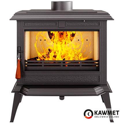 Печь камин чугунная KAWMET Premium S11 (8,5 kW), фото 2