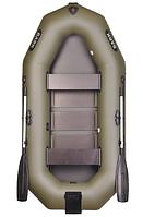 Надувная лодка Bark B260N двухместная с навесным транцем, гребная