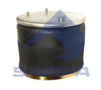 Пневморессора подвески DAF со стаканом,( 2 шпильки+ воздух), SAMPA, фото 1