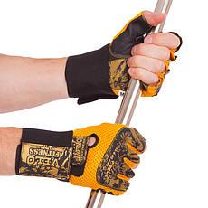 Перчатки атлетические с фиксатором запястья VELO VL-3224 (реплика), фото 3