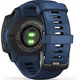 Часы-навигатор Garmin Instinct Solar Tidal Blue, фото 2