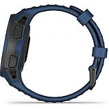 Часы-навигатор Garmin Instinct Solar Tidal Blue, фото 3