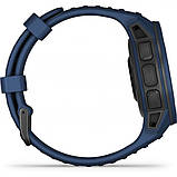 Часы-навигатор Garmin Instinct Solar Tidal Blue, фото 4