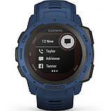 Часы-навигатор Garmin Instinct Solar Tidal Blue, фото 6
