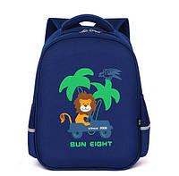 Каркасный школьный рюкзак с ортопедической спинкой для мальчика 1-2-3-5 класс, ранец, портфель