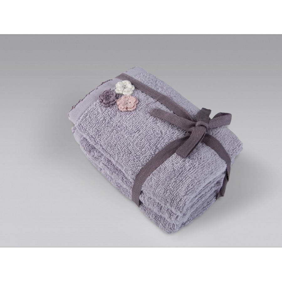 Полотенце Irya - Carle lila лиловый 90*150