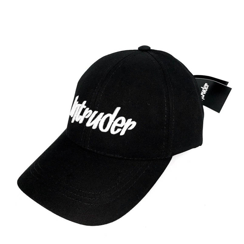 Кепка Intruder чоловіча | жіноча чорна брендовий + Фірмовий подарунок, фото 2
