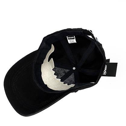 Кепка Intruder чоловіча | жіноча чорна брендовий + Фірмовий подарунок, фото 3