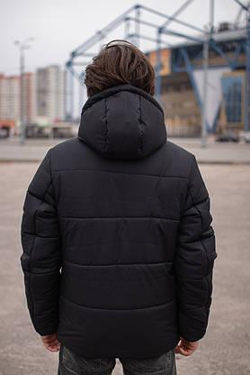 Куртка мужская зимняя черная Glacier Intruder, фото 2
