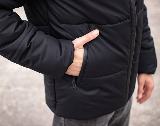 Куртка мужская зимняя черная Glacier Intruder, фото 3
