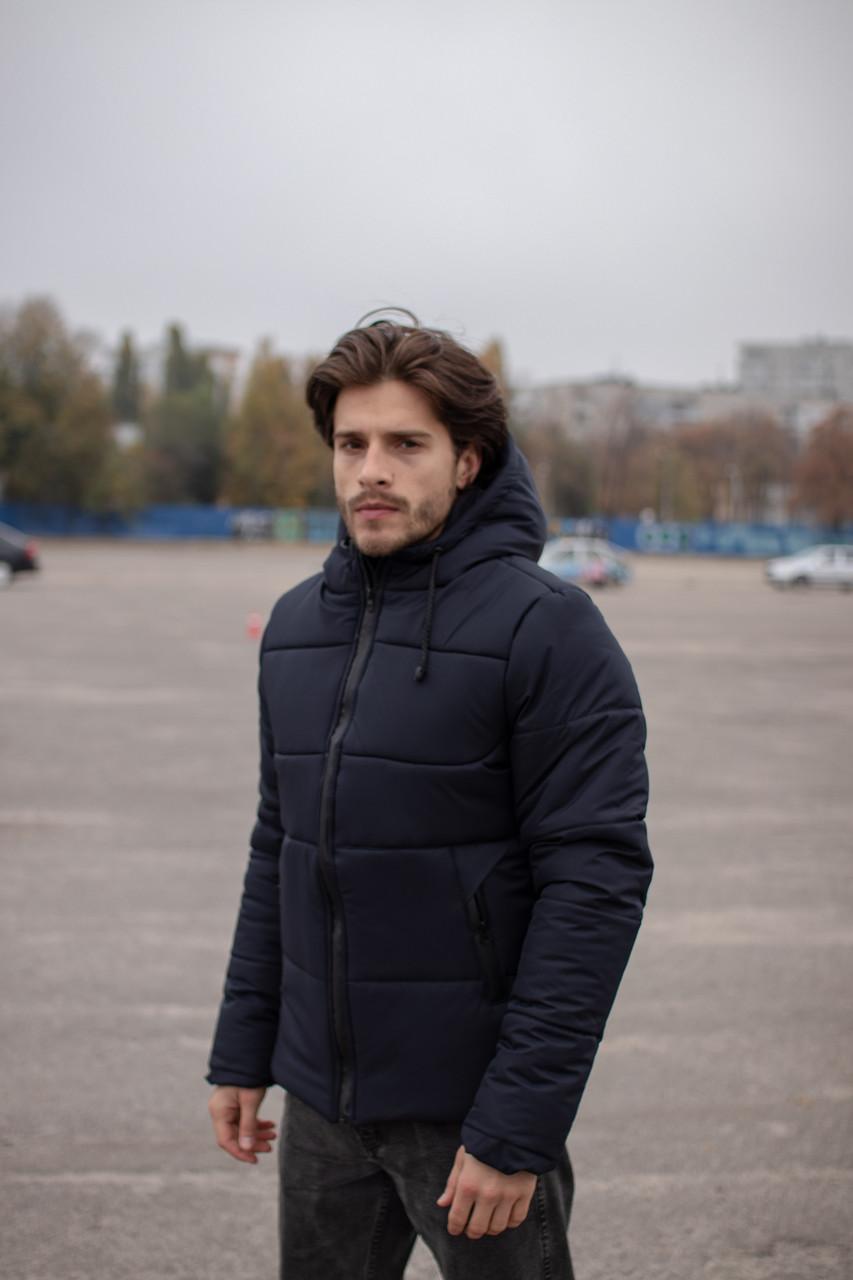 Куртка мужская зимняя синяя Glacier Intruder