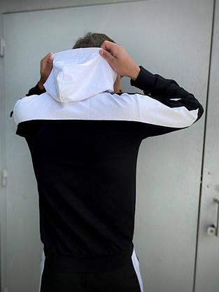Мужской спортивный костюм Spirited черный-белый Intruder + Подарок, фото 3