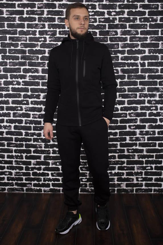 Спортивный костюм Spirited Hot Intruder Black - утепленный флисом + Подарок, фото 2