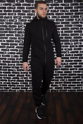 Спортивный костюм Spirited Hot Intruder Black - утепленный флисом + Подарок, фото 3
