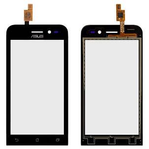 Сенсор (тачскрін) Asus ZenFone Go (ZB452KG) чорний, фото 2