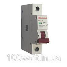 Автоматичний вимикач 1  полюс 1 A