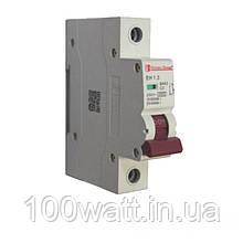 Автоматичний вимикач 1  полюс 3 A