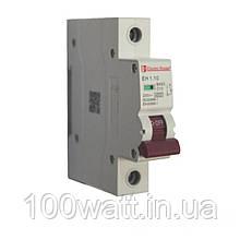 Автоматичний вимикач 1  полюс 10 A