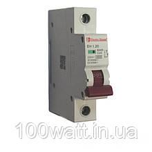 Автоматичний вимикач 1  полюс 20 A