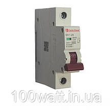Автоматичний вимикач 1  полюс 25 A
