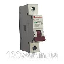 Автоматичний вимикач 1  полюс 32 A