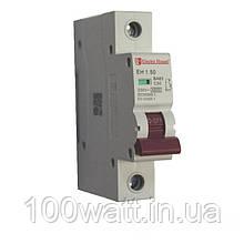 Автоматичний вимикач 1  полюс 50 A