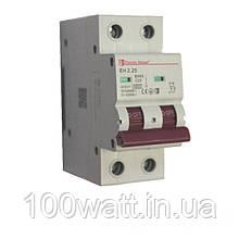Автоматичний вимикач 2  полюса 25 A