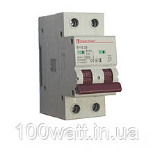 Автоматичний вимикач 2  полюса 32 A