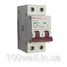 Автоматичний вимикач 2  полюса 40 A