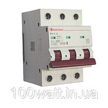 Автоматичний вимикач 3  полюса 10 A