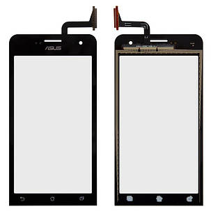 Сенсор (тачскрин) для Asus ZenFone 5 Lite (A502CG) черный, фото 2