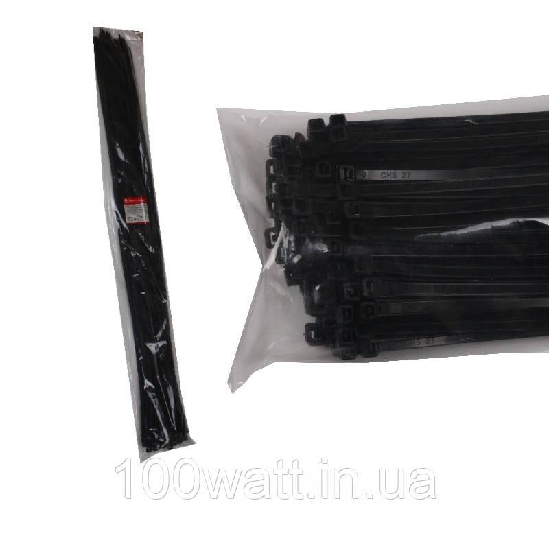 Стяжка кабельна Чорний 9х1220 мм  100шт./п.