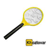 Электрическая мухобойка в виде ракетки