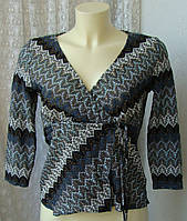 Туника женская кофточка ажурная нарядная бренд Marks&Spencer р.46 3742