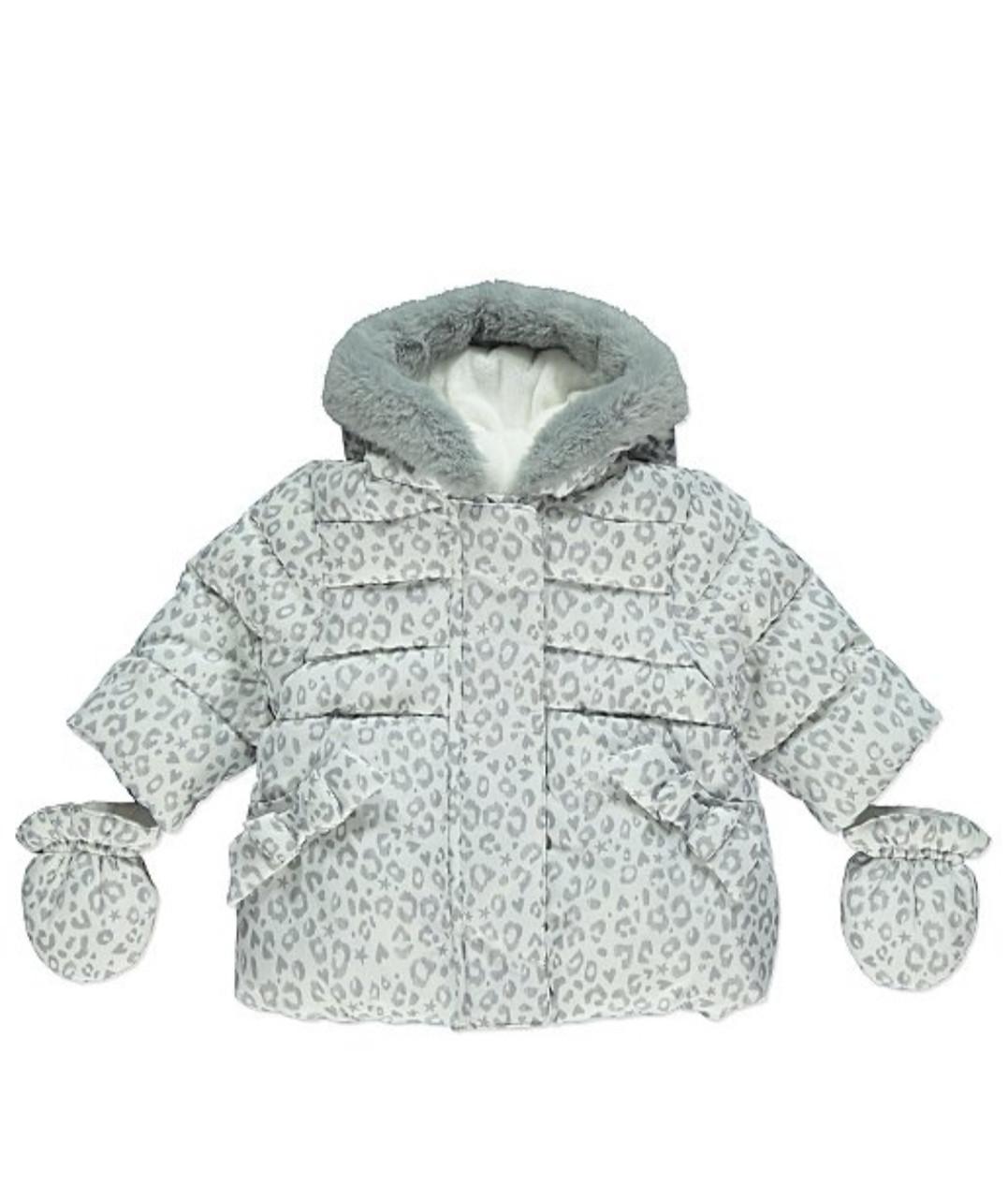Куртка для девочки леопардовая George р.74см