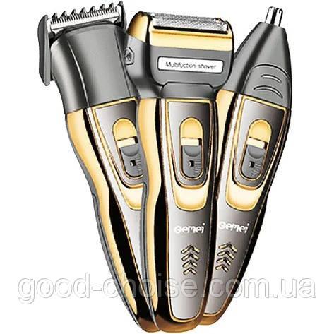 Машинка для стрижки, бритва, триммер Gemei GM 595 Hair Trimmer / Многофункциональный набор для стрижки волос