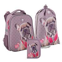 Школьный набор Kite Studio Pets рюкзак пенал сумка SET_SP20-531M