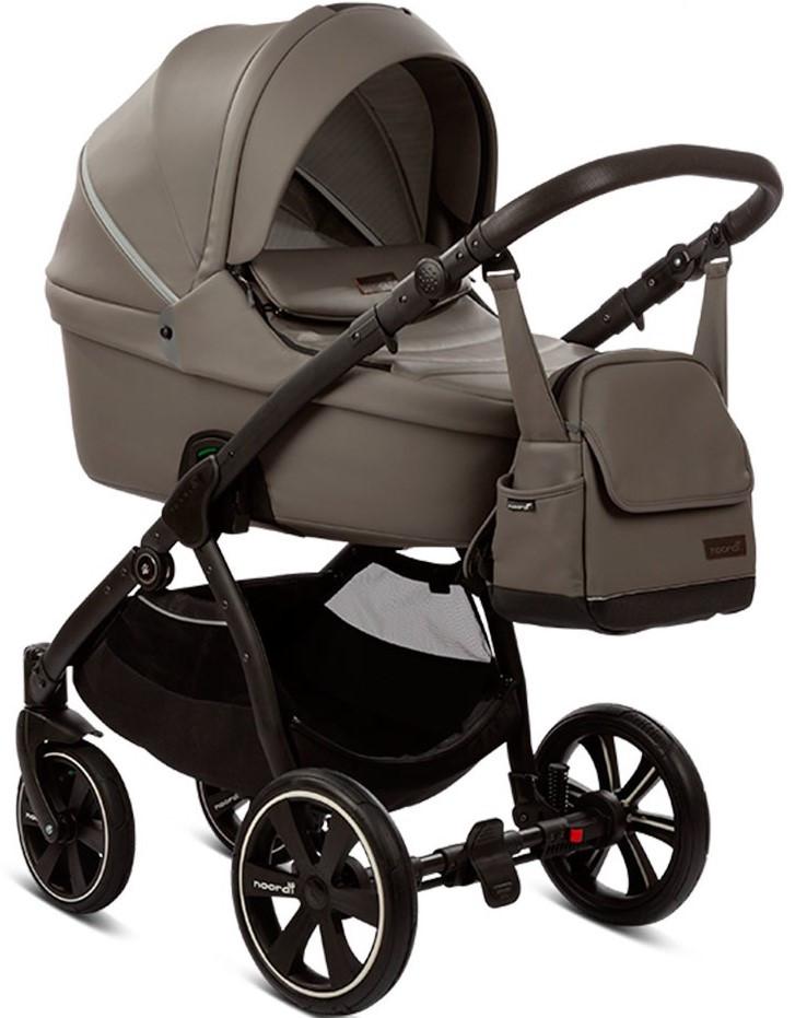 Детская универсальная коляска 2 в 1 Noordi Graphite/818