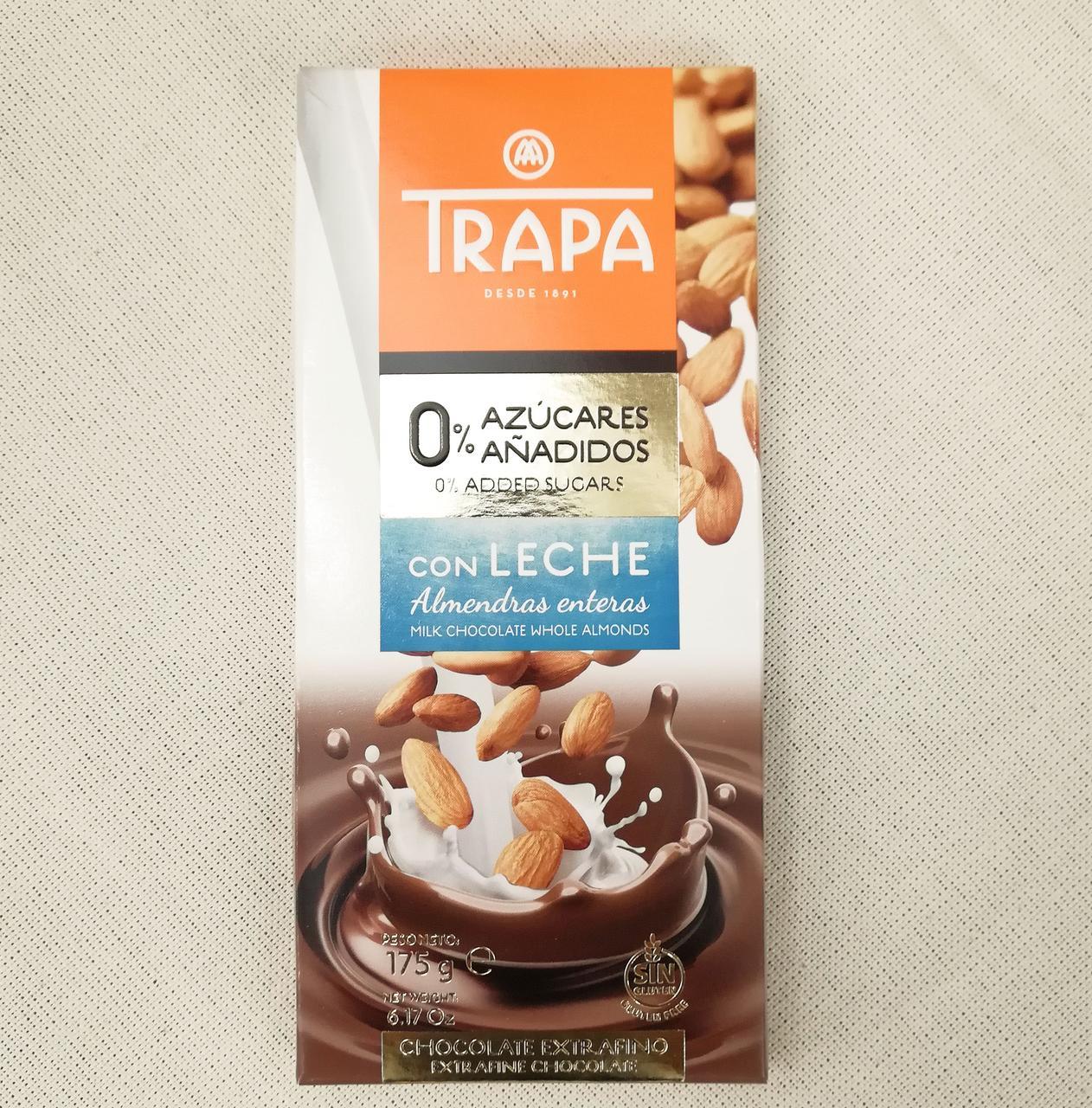 Trapa Sugarfree Almonds 175 gram