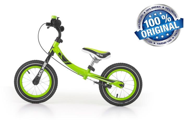 Беговел (велобіг від) Milly Mally Young (Польща), зелений