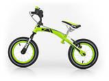 Беговел (велобіг від) Milly Mally Young (Польща), зелений, фото 2