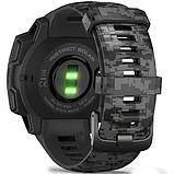 Часы-навигатор Garmin Instinct Solar Graphite Camo, фото 2