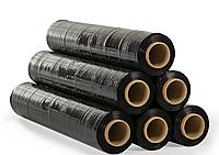 Стрейч пленка для упаковки   20мкм*50мм*300 метров черная